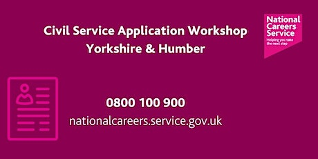 Civil Service Recruitment Workshop - Leeds, York and North Yorkshire tickets
