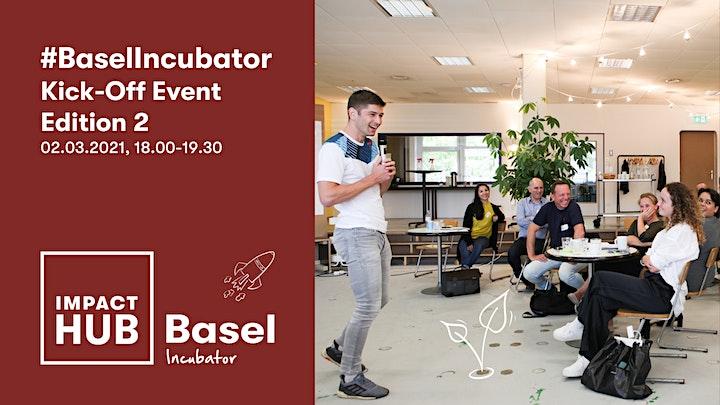 Impact Hub Basel Incubator Kick-Off 2021 image