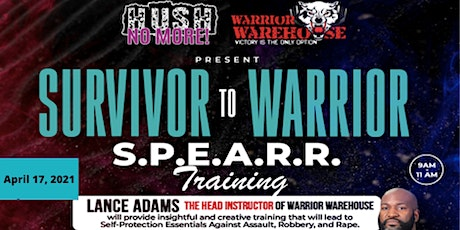 Survivor to Warrior S.P.E.A.R.R. Defense Training tickets