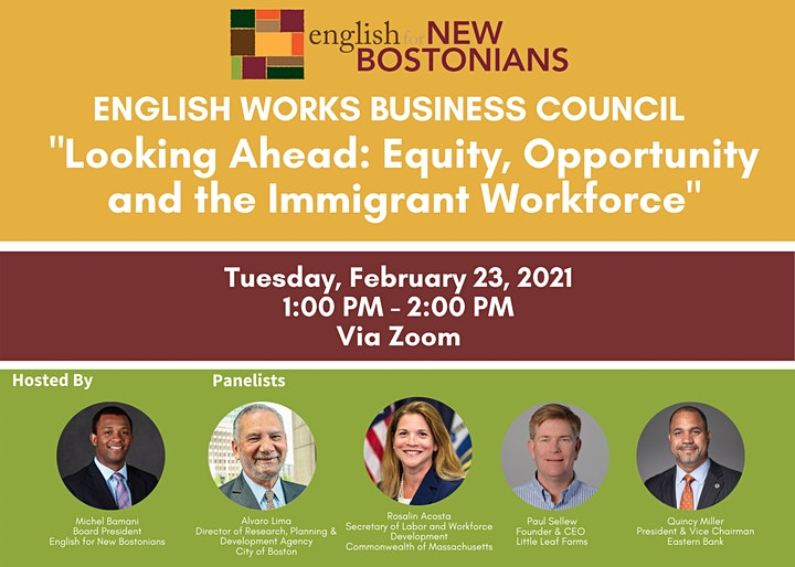 Looking Ahead: Equity, Opportunity and the Immigrant Workforce image
