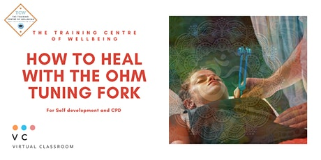 Healing with the mid Ohm Tuning Fork for CPD or self development tickets