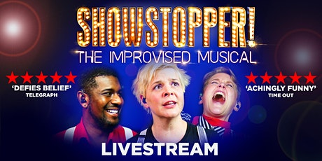 Showstopper! The Improvised Musical Livestream biglietti