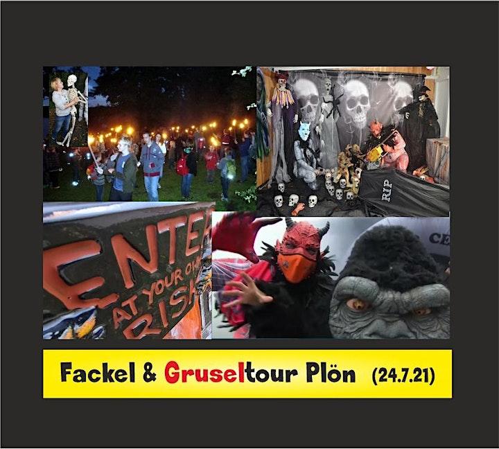 """Fackel / Lichterwanderung mit Eintritt Gruselwald Live Grusel """"Traut Euch"""": Bild"""