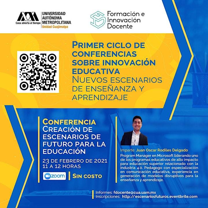Imagen de Conferencia: Creación de escenarios de futuro para la educación