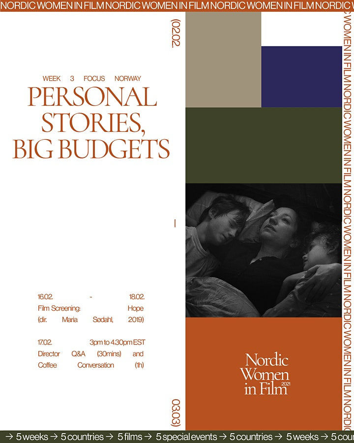 Nordic Women in Film /PERSONAL STORIES, BIG BUDGETS /Q&A + Conversation image