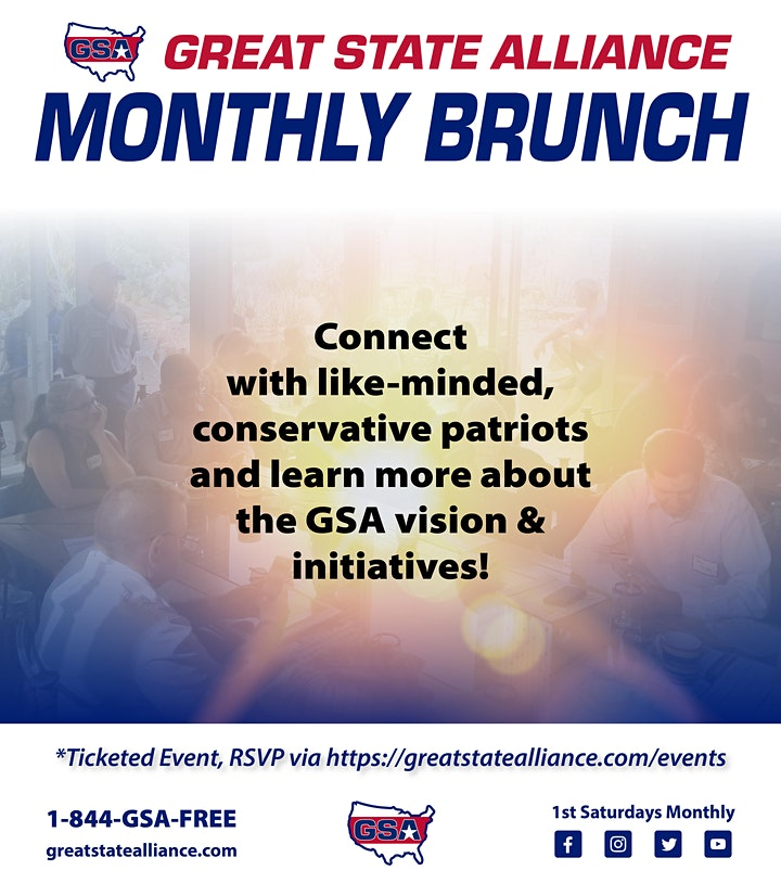 GSA Monthly Brunch - March image