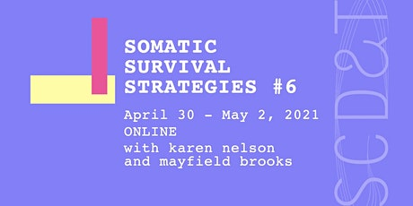 Somatic Survival Strategies #6 tickets