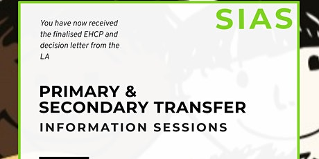 Primary and Secondary School Transfer  - Information Session tickets