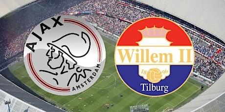 LIVE@!. Ajax - Willem II Tilburg LIVE OP TV 2021 tickets