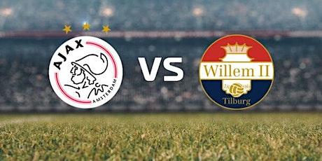 ONLINE@!. Ajax - Willem II Tilburg LIVE OP TV 2021 tickets