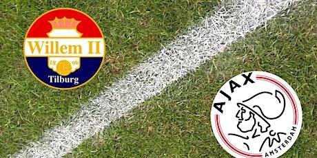 K.I.J.K@!. Ajax - Willem II Tilburg LIVE OP TV 2021 tickets