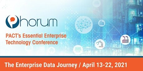 Phorum 2021 Conference Series: The Enterprise Data Journey tickets