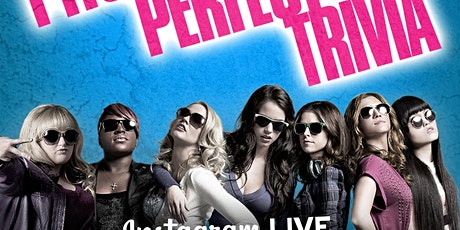 Pitch Perfect Trivia on Instagram LIVE tickets