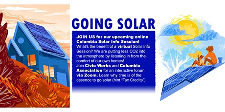 Columbia Solar Info Session 3/24/21 tickets