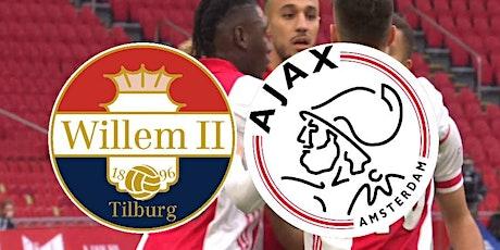 StrEams@!. Willem II Tilburg - Ajax LIVE OP TV 2021 billets