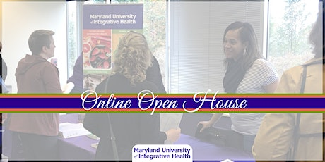 Maryland University of Integrative Health Online Open House tickets