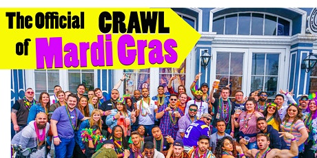 The Official Crawl of Mardi Gras 2022 tickets