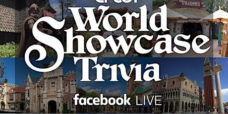 EPCOT World Showcase Trivia Live-Stream tickets