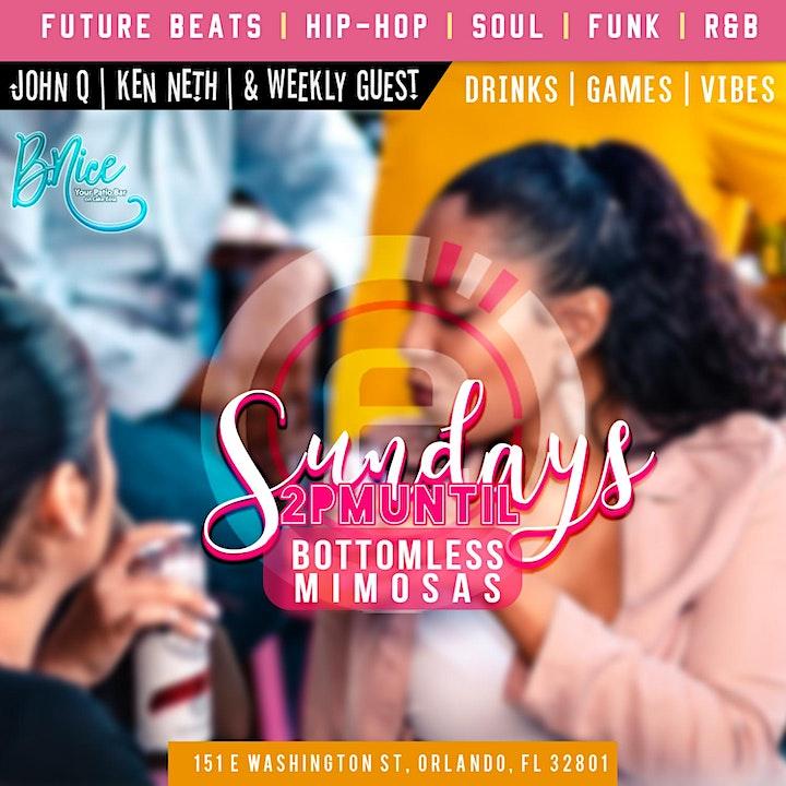 Vibes & Bottomless Mimosas @B.Nice Orlando image