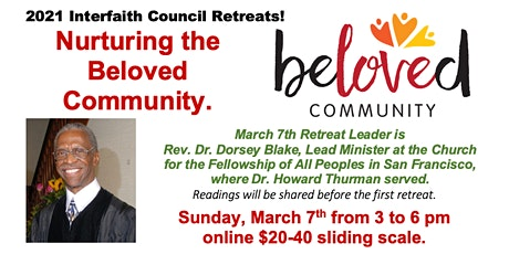 Nurturing the Beloved Community Retreats tickets