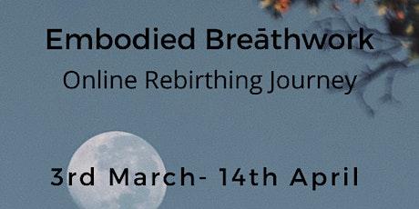 Embodied Breathwork 7wk Course tickets