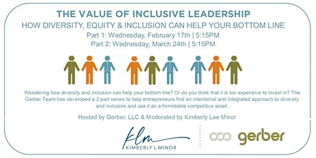 The Value of Inclusive Leadership tickets
