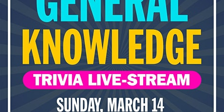 General Knowledge Trivia Live-Stream tickets