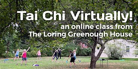 Tai Chi, Virtually! - Tai Chi/Qigong Class tickets