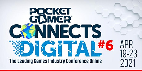 Pocket Gamer Connects Digital #6 tickets