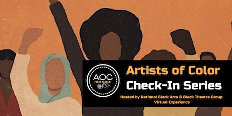 NBAForward x Black Theatre Group presents: Artists of Color  ATL Check-Ins tickets