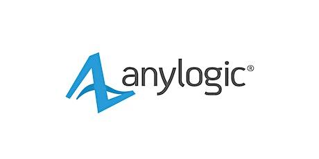 AnyLogic Software Training Course - August 10-12, 2021 ingressos