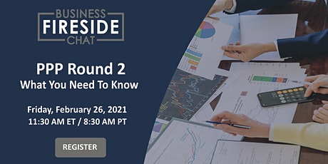 [Webinar] PPP Small Business Loans Round 2 - What You Need To Know tickets