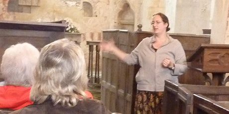 Mistaken Medieval identities in Leicestershire Church Art tickets