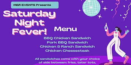 Saturday Night Fever Dinner tickets