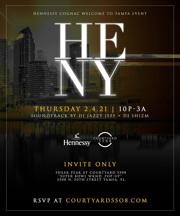 HENNESSY WELCOME PARTY image