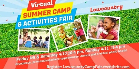Lowcountry Camp & Activities Fair (Virtual) tickets