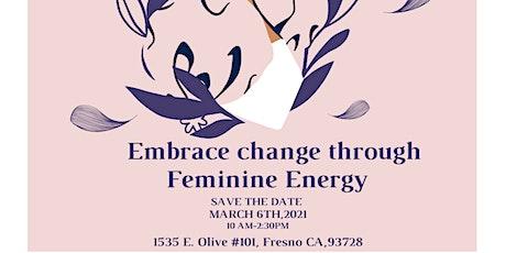 Embrace Change through Feminine Energy tickets