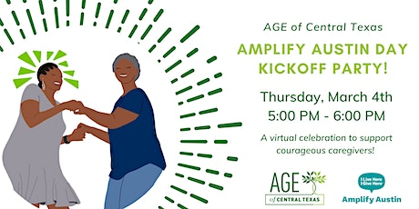 AGE's Amplify Austin Day Kickoff Party! tickets