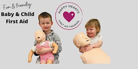 Online Baby & Child First Aid tickets