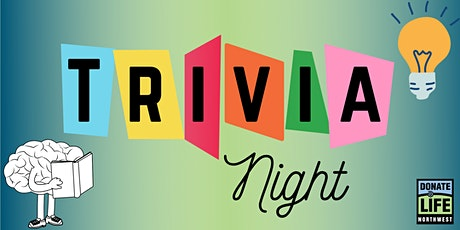 Donate Life Northwest Virtual Trivia Night tickets
