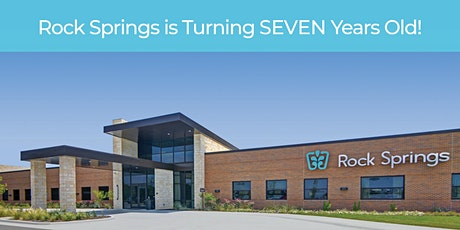 Rock Springs is turning SEVEN! tickets