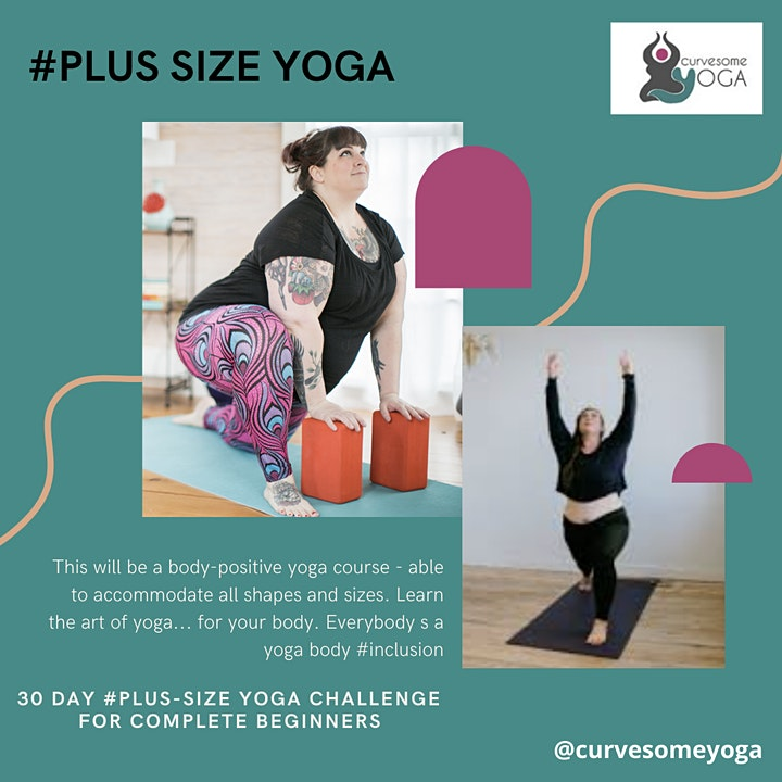 30 Day #Plus-Sized Yoga Challenge image