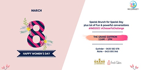 International Womens Day Celebrations 2021 tickets