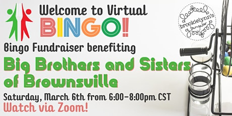 Big Brothers & Sisters of Brownsville Virtual Bingo Fundraiser tickets