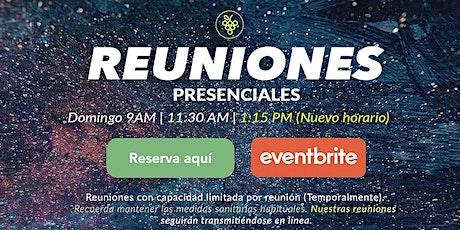 Reuniones Presenciales ¡Reserva tu lugar! entradas