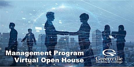 Management Program Virtual Open House tickets