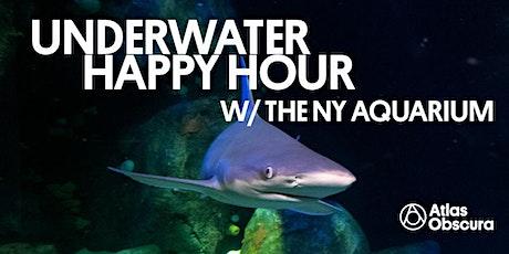 Underwater Happy Hour w/ the NY Aquarium: Sharks tickets