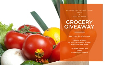 Grocery Giveaway w/ Brother's of International Faith tickets