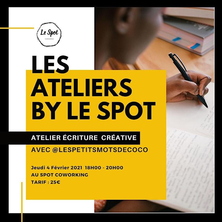 Image pour Atelier d'écriture créative avec l'écrivain Coco Mondésir