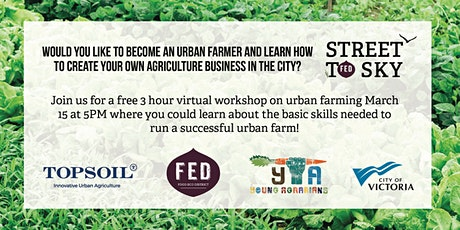 Urban Farmer Workshop tickets